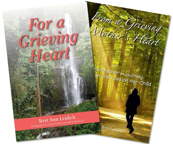 Grief Books by Terri Ann Leidich