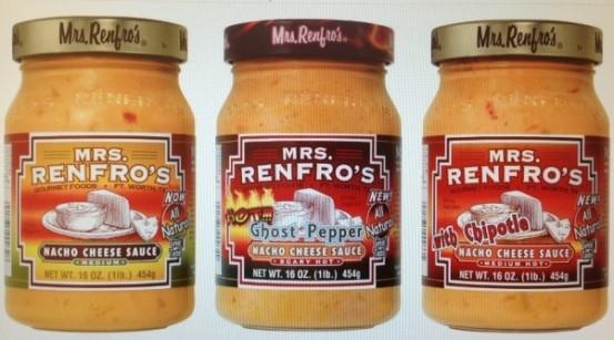 Mrs. Renfro's Nacho Cheese line