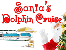 Christmas, island style! Cruise for pictures with Santa on a deserted island!