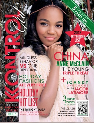 China Anne McCain 2012 Winter Cover