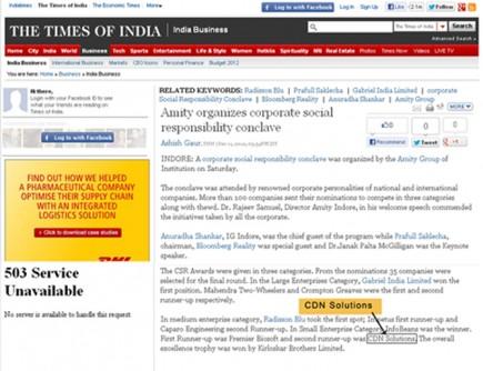 CSR Conclave Image