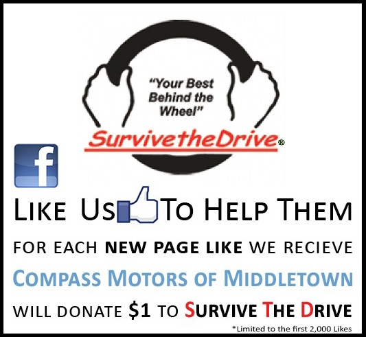 Survive the Drive Compass Motors Partnership