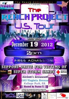 Reach Project US Tour Stops
