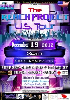 Reach Project US Tour Stops