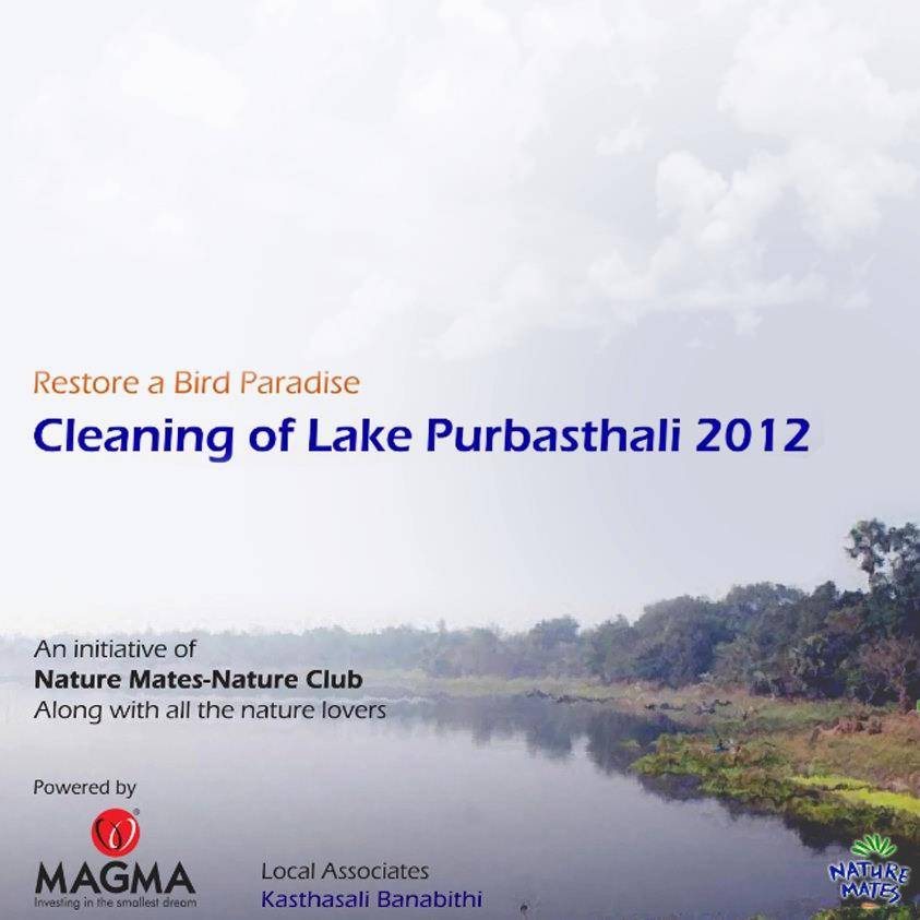 lake cleaning