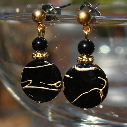 Midnight Spark Nickel Free Earrings