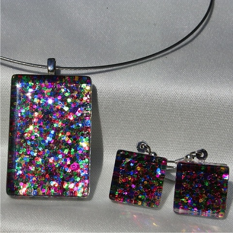 Party Time Nickel Free Pendant Set