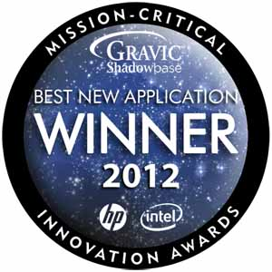 Gravic Shadowbase Wins HP-Intel 2012 Mission-Critical Innovation Award