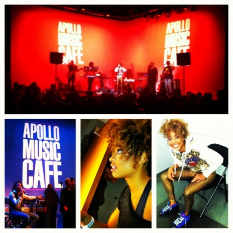 Reesa Renee Performs at Apollo Music Cafe