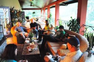 Visit at American expat's home in Boquete, Panama