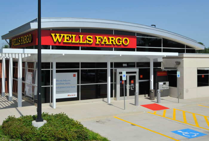 Wells Fargo Bank at 955 W. Bethany Drive in Allen, Texas
