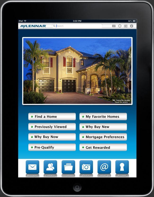 The myLennar iPad App