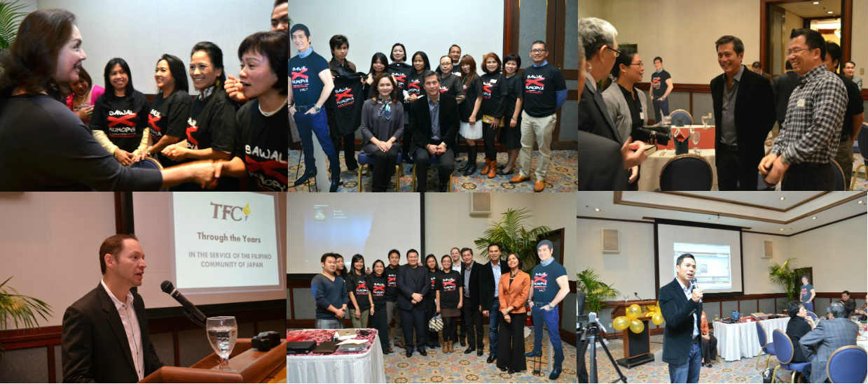 Filipinos in Japan support OMB-TFC anti-piracy crusade (Photos by TFC Japan)