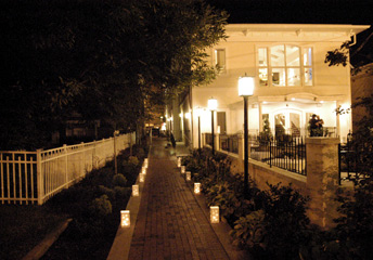 Banquet Hall Entrance