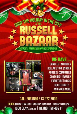 Russell Bazaar Flyer Front