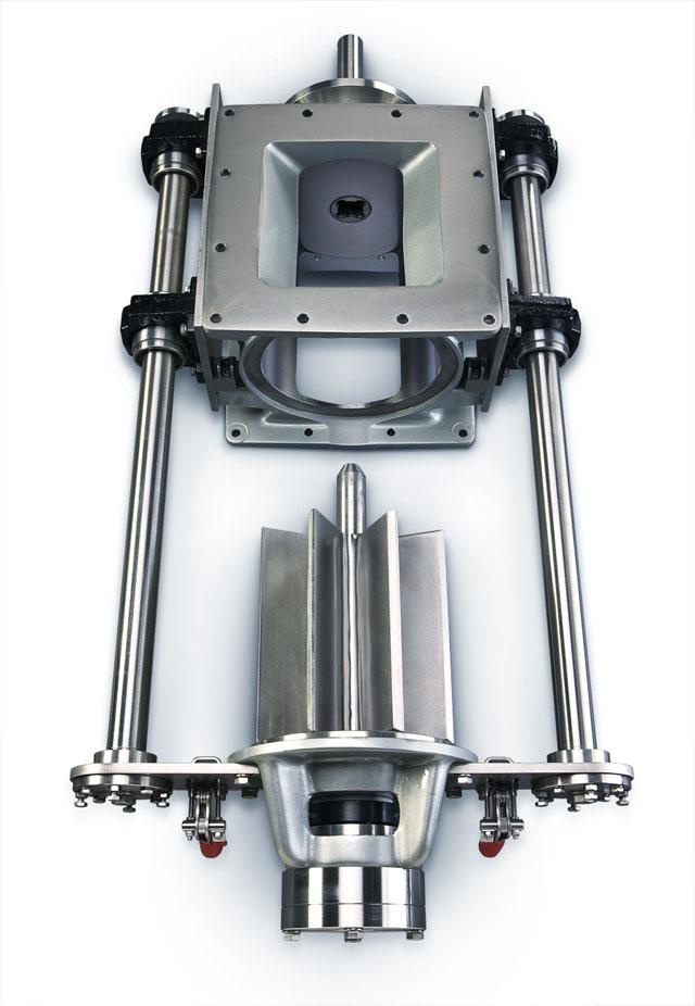 Run-Clean™ Sanitary Rotary Airlock Valve