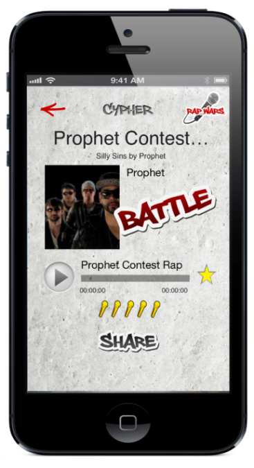 Prophet Rap Battle on Rap Wars