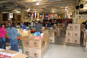 Operation Christmas Child 2012  - Warehouse Facility
