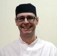 Dean Capener,  head chef at The Beeches