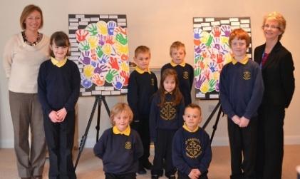 St Mary's C of E School lend a hand