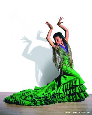 Gabriela Granados of American Bolero Dance Company - Photo: Alexandros Giannakis