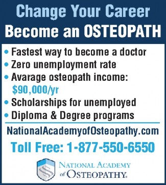 Become an osteopath & secure your future