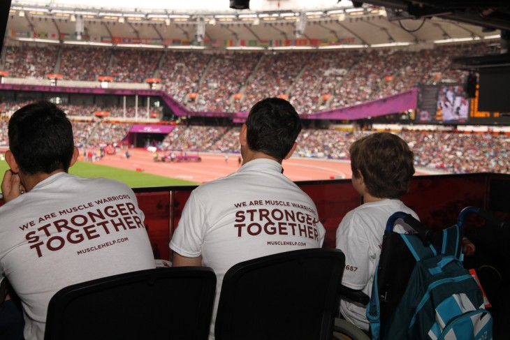 Games Inspired Muscle Dreams at the Olympic Stadium