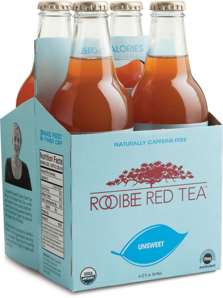 Rooibee Red Tea Unsweet 4-pack