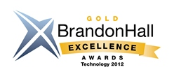 BizLibrary Won the Brandon Hall Gold Award for Excellence.