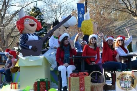 The Award Winning Pittsboro Roadhouse Christmas Float