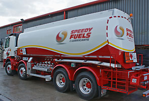 speedy fuels and lubricants tanker