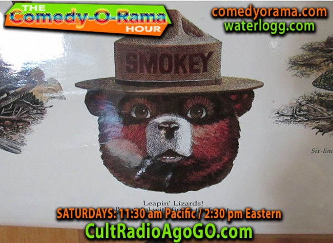 Comedy-O-Rama Christmas airs online Saturday11:30 ET am on CultRadioAGoGo.com