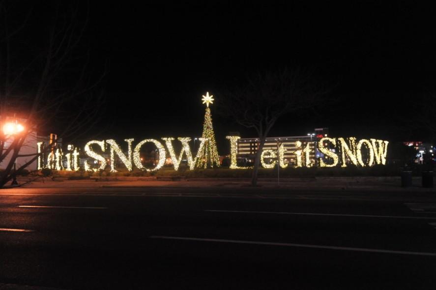 Atlantic City Christmas Let It Snow