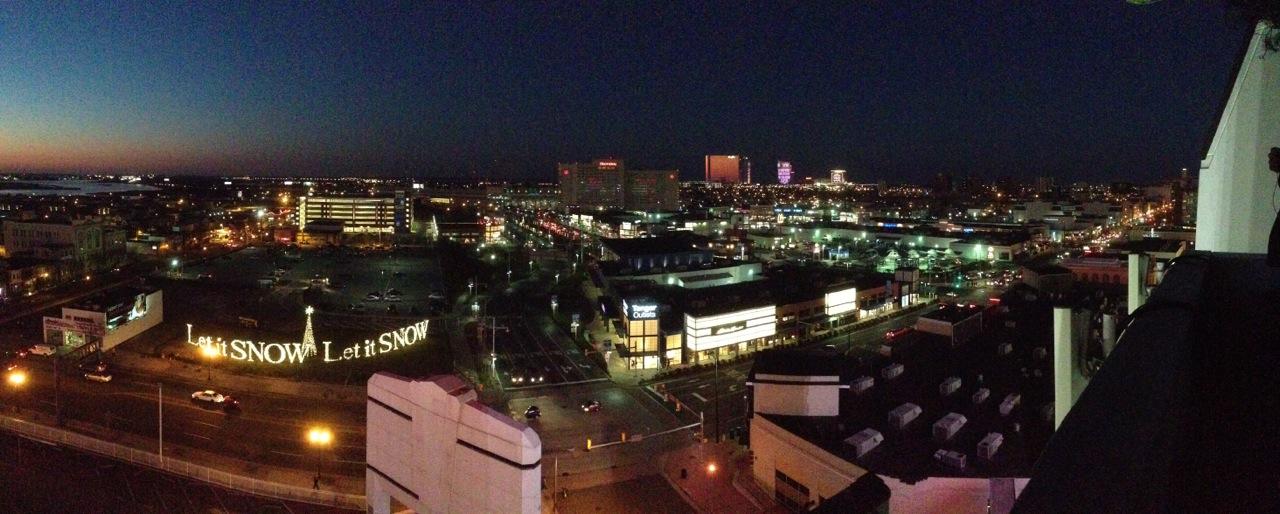 Atlantic City Light Show