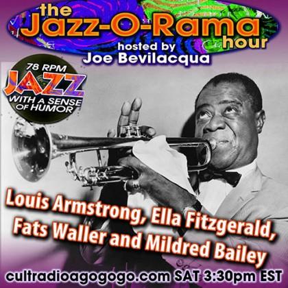 Louis Armstrong Saturday, December 22 3:30 pm ET 12:30 pm PT cultradioago.com