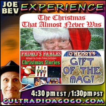 Christmas Stories Saturday, December 20 4:30 pm ET on cultradioagogo.com.
