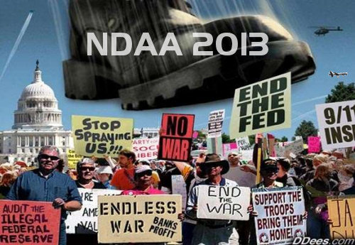 NDAA 2013: Indefinite Detention of American Citizens