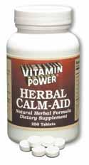 Herbal Calm Aid by Vitamin Power