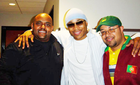 Marc and Troy with LL Cool J