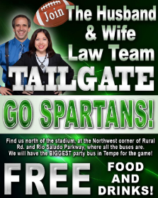 The Husband and Wife Law Team Tailgate