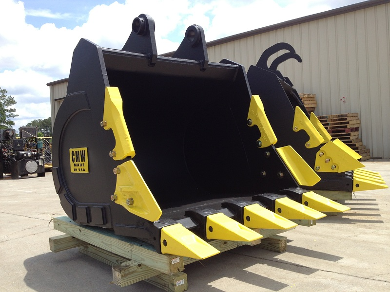 Excavator Bucket : Cmw attachments secures contract to provide excavator