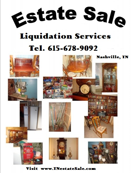 Estate sale liquidation Services