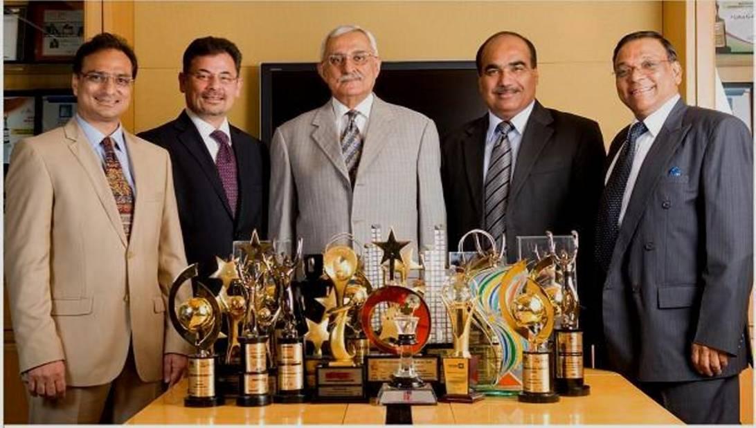 Alpha Team with Awards