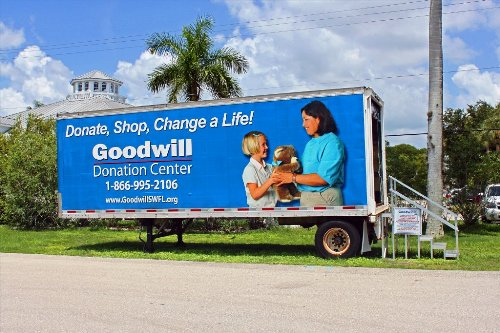 Visit www.goodwillswfl.org for donation center locations