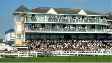 Ayr Racecourse, Ayrshire, Scotland.