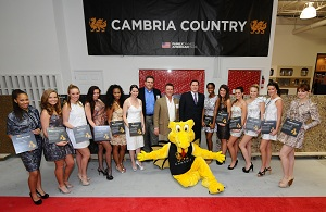 Huge attendance at the NKBA Event with Cambria