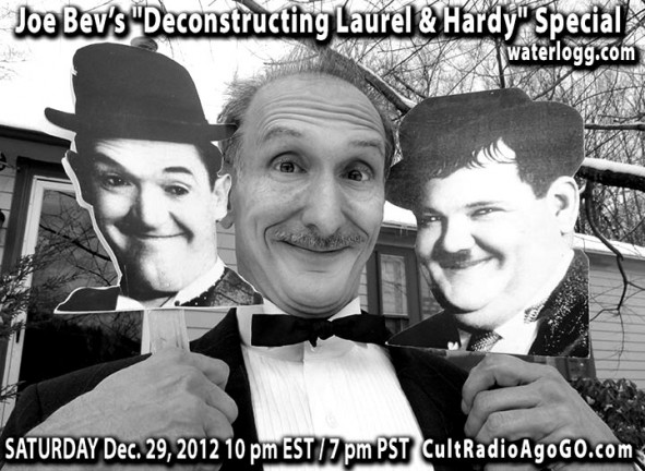 """Deconstructing Laurel & Hardy"" airs Saturday 10 pm at cultradioagogo.com"