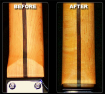 Haywire Custom Guitars Offers Original RECESSED HEEL CREST Option-Free of Charge