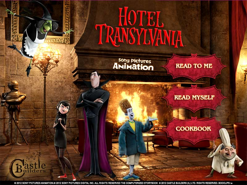 Hotel Transylvania Movie Deluxe App for the iPad, iPhone and Windows 8