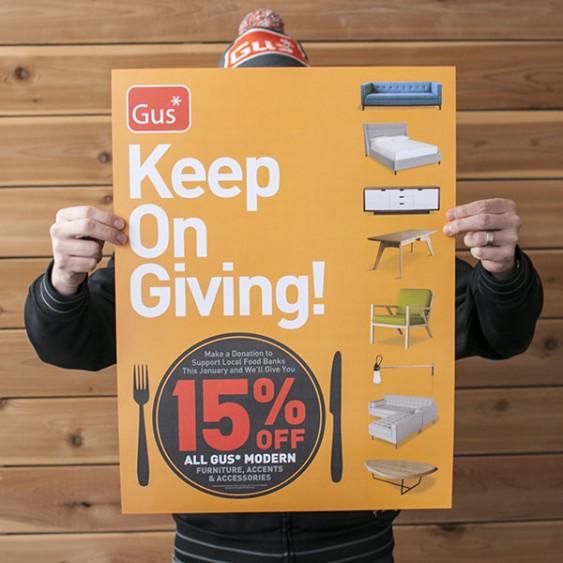 "Mod Livin' & Gus Modern Announce ""keep On Giving ..."
